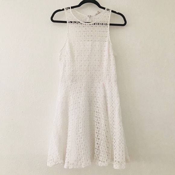 White Lace Bb Dakota A Frame Dress